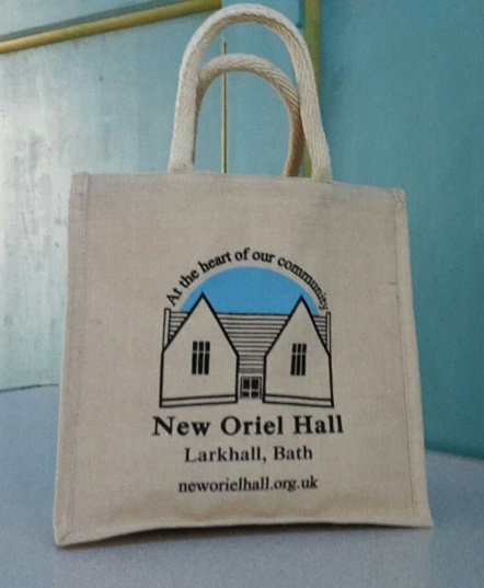 New Oriel Hall Jute Bags