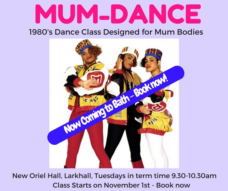 Mum-Dance 80's Dance Class – Starting November 1st