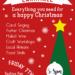 Christmas Larks 7th December 5.00 – 8.00