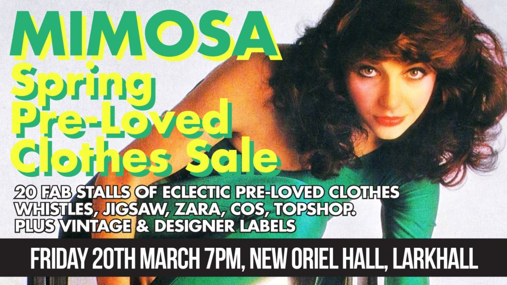 Spring Clothes Sale Friday 20th March from 7pm